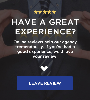 leave a review sign